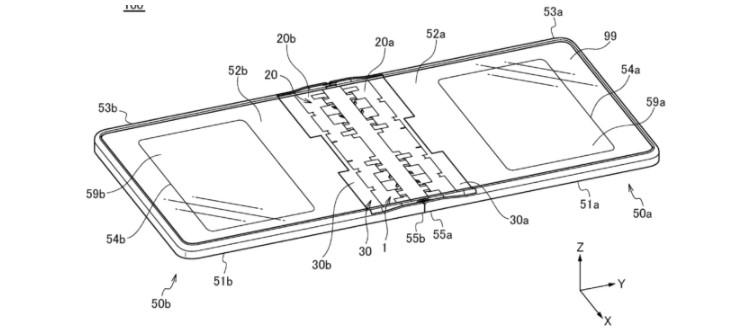 华为新专利:对折式折叠机型铰链结构 已于 10 ...