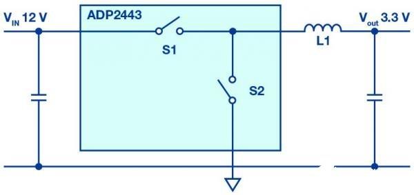 使用MOSFET和额外的肖特基二极管的电路设计可最大限度地减少干扰