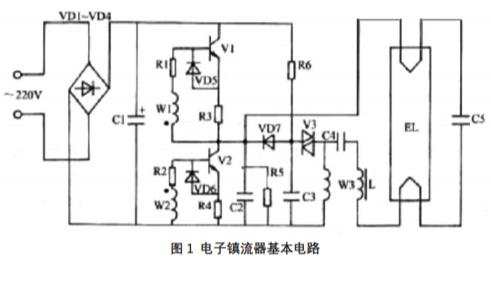 如何使用電子鎮流器中常用電路的脈沖變壓器