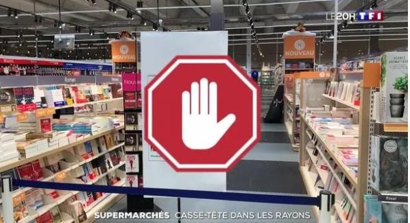 法国大型超市将不再销售非必需品:每30秒就有一个...