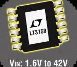 宽输入范围DC/DC控制器LT3759的性能特点...