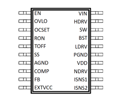 100V,30A 高压大电流同步PWM降压DC-DC