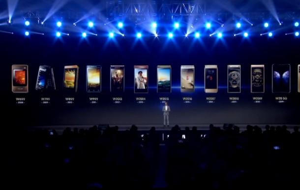 三星W21 5G新品發布會在南京舉行