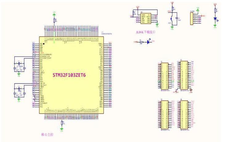 STM32F103 CAN模板程序