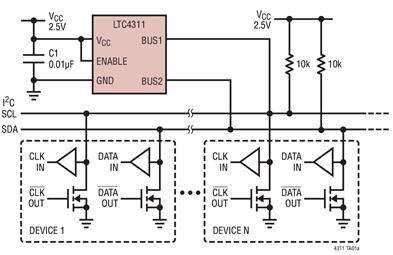 上升時間加速器LTC4311的作用及性能分析