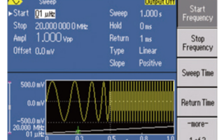 泰克AFG2021任意波形/函数发生器的性能特点...