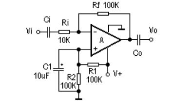 LM324运算放大器的实际应用