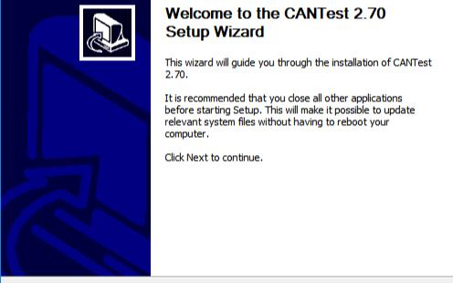 CANTest通用测试软件免费下载