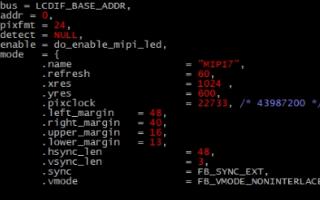 i.MX8MM如何在uboot调试显示,具体方案...