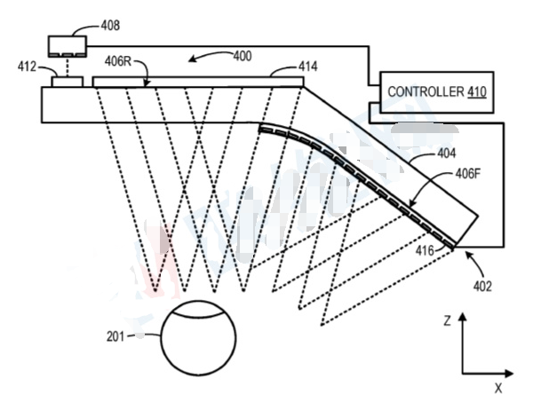 微軟頭戴式近眼設備最新AR專利搶先看