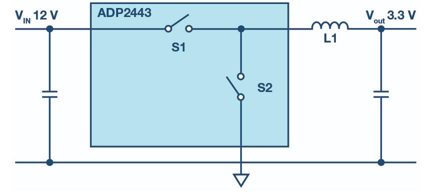 采用額外的肖特基二極管減少干擾