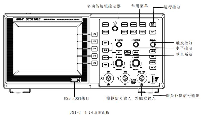 UTD2000和UTD3000数字储存示波器的使用手册免费下载