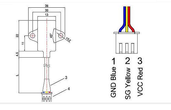 电容式液位传感器的工作原理及接线方式