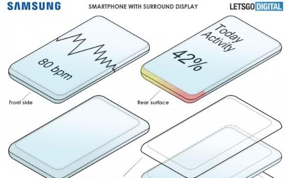 三星未来派手机专利曝光:全面环绕屏