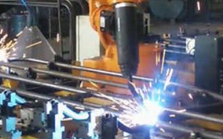 低压电气柜柜体的焊接生产