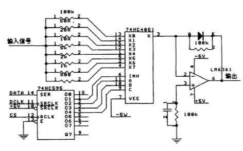 AD603增益可调运算放大器的工作原理和应用详细说明