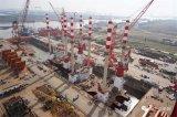 """两艘320T自升式风电安装船""""三航风行""""号和""""三航风顺""""号正式下水"""