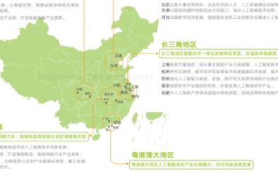 10月主要城市人工智能产业发展状况