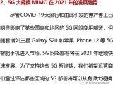 5G大规模MIMO在2021年的发展趋势