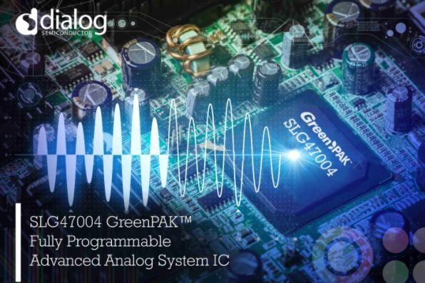Dialog推模拟GreenPAK™ IC SL...