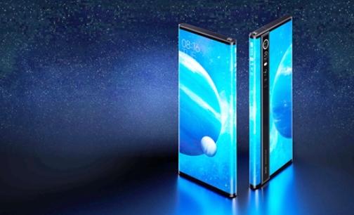三星手机环绕屏方案曝光,屏占比竟达到100%