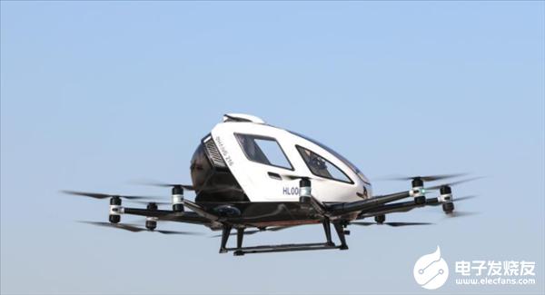 中国研制的自动驾驶飞行器在韩国试飞:最大载荷22...