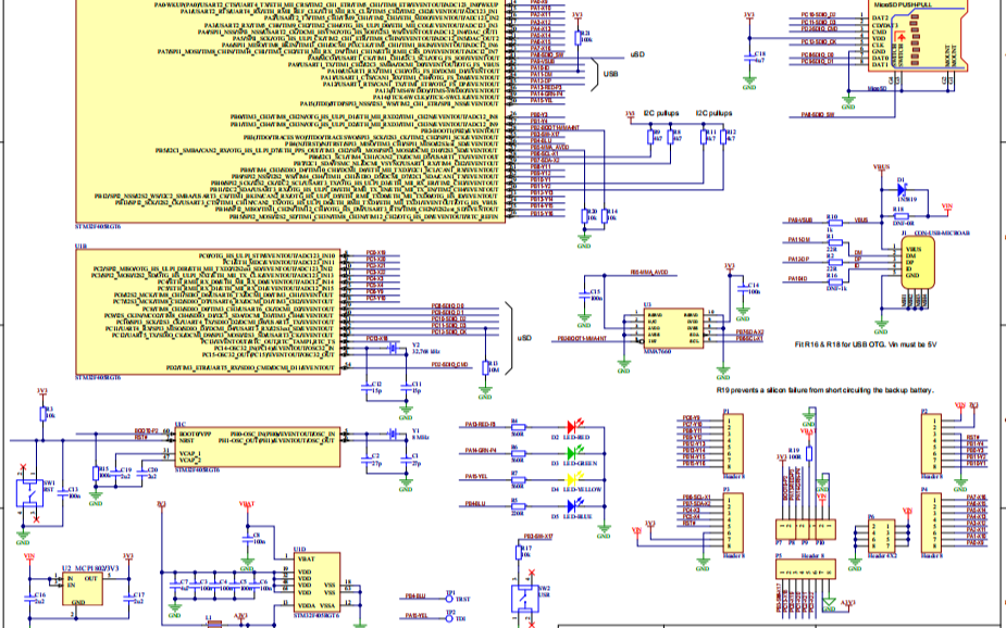 MicroPython開發板原理圖PCB源文件源代碼開源