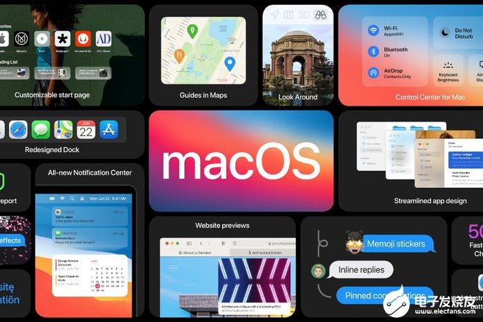 苹果macOS Big Sur系统界面大改变特殊...