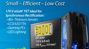宜普電源轉換公司推出100V ~ 200V產品系列的EPC2059氮化鎵場效應晶體管