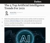 《福布斯》预测:2021年人工智能的四大趋势