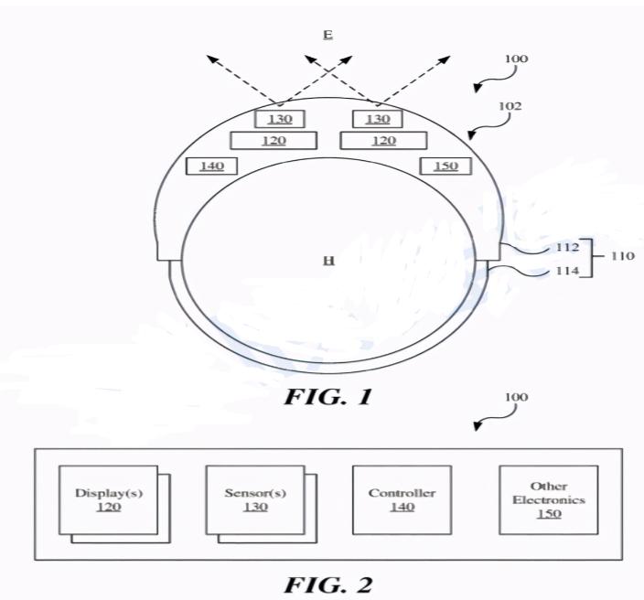蘋果AR新專利申請,可在低光條件下工作的頭顯設備