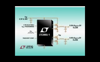 降压型DC/DC控制器LTC3865/-1的功能...