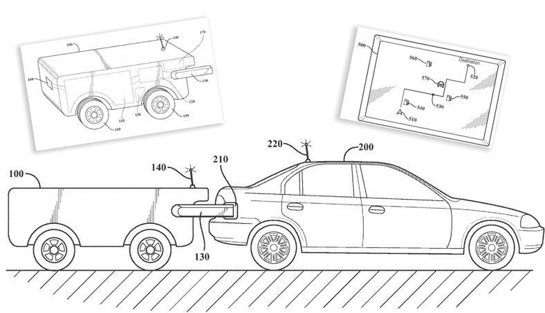 丰田专利可以自动为抛锚汽油车或电动汽车补充燃料