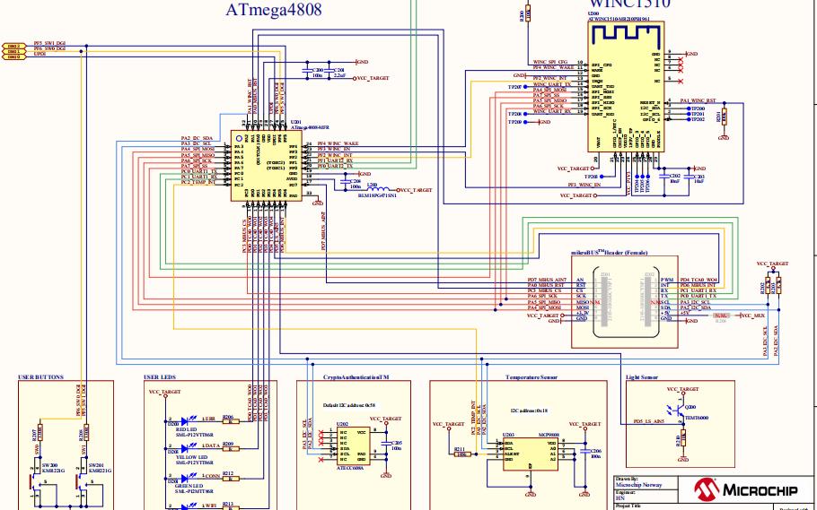 基于MicroChip的阿里云IOT连接开发套件方案