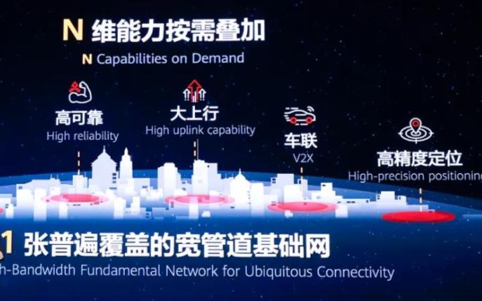 """华为提出的""""1+N""""5G目标网在产业角度的可行性"""