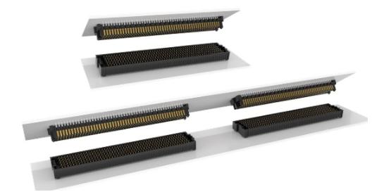 克服PCB板間多連接器組對齊的挑戰