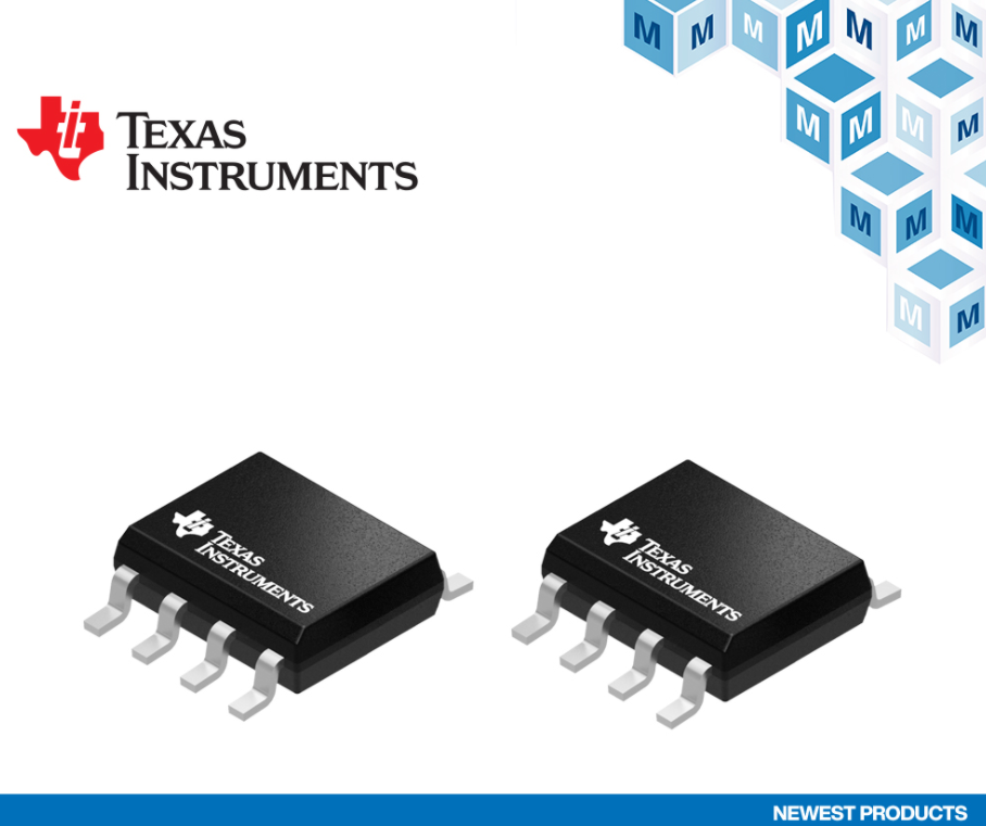 貿澤開售Texas Instruments TLV915x運放和ADS7128 ADC,為高速工業解決方案提供助力