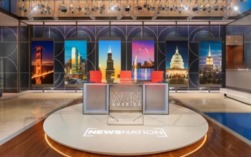 奥拓Mini LED亮相美国芝加哥电视台,大大提升了其演播效果