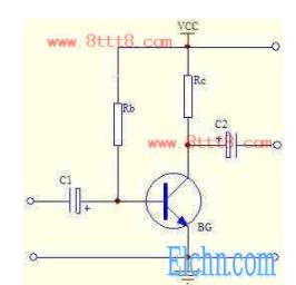三极管偏置电路_电压负反馈偏置电路