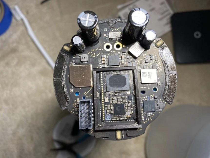 苹果HomePod Mini拆解发现电源线不可拔出