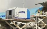 ASML在自己的展台上晒出展示了DUV光刻机