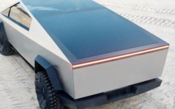 特斯拉一个月后将发布更新版电动皮卡Cybertruck设计