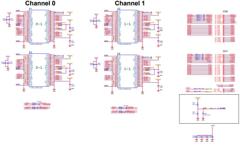 SM2258XT固态硬盘的电路原理图合集免费下载