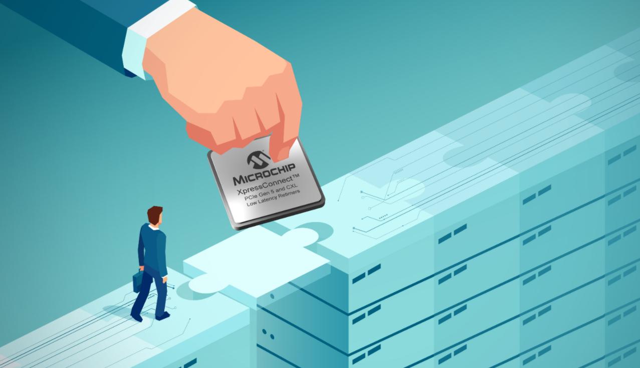 Microchip推出業界延遲最短的PCI Express? 5.0和CXLTM 2.0重定時器