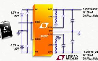 低压差电压线性稳压器LT3032的性能特点及应用...