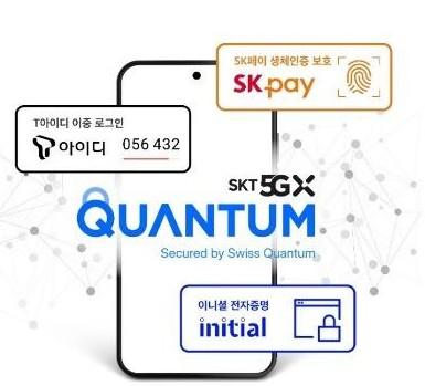 三星联手SK电讯推出世界上首款量子通信智能手机