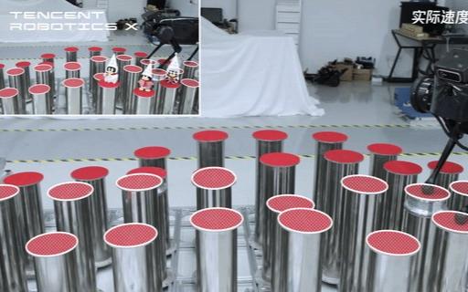 腾讯Robotics X实验室机器狗首亮相