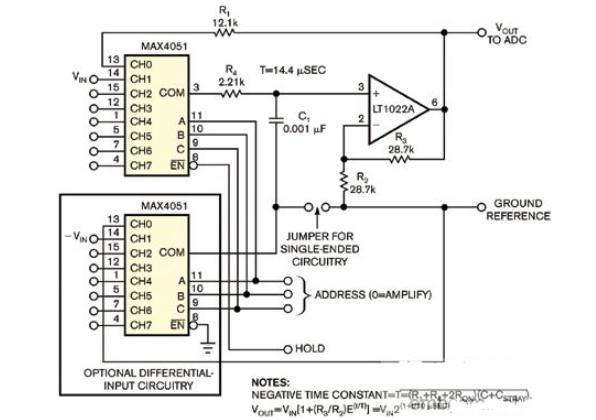 高性能、低元件數的全新ADC前端設計實例