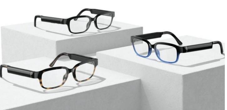 亚马逊的智能眼镜Echo Frames将上市 针对佩带者脸的个人智能扬声器