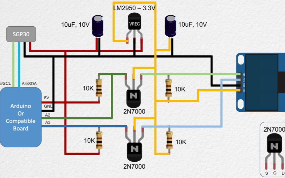 使用Arduino實現空氣質量傳感器的資料合集
